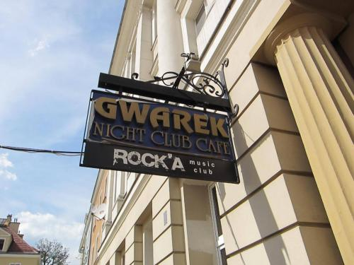 Gwarek szyld/ Rock'a Club