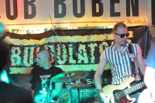 Wrzesień 2016, Bulbulators Praha, klub Buben z Fialkami