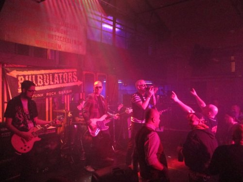 Bulbulators w klubie Sen Pszczoły, listopad 2015