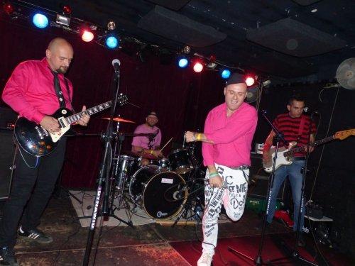 Jednorazowa reaktywacja Warsaw Dolls z okazji urodzin wokalisty, 2.09.2017, Pogłos, Warszawa/ One time reunion of the Warsaw Dolls, Sept 2, 2017, Poglos, Warsaw